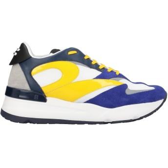 《セール開催中》RUCO LINE メンズ スニーカー&テニスシューズ(ローカット) ブライトブルー 40 革 / 紡績繊維 / ゴム