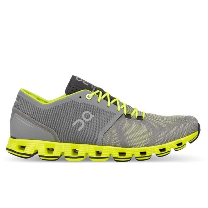 ON瑞士跑鞋輕量雲X(男) CloudX M Grey/Neon 金屬灰 204300 US10