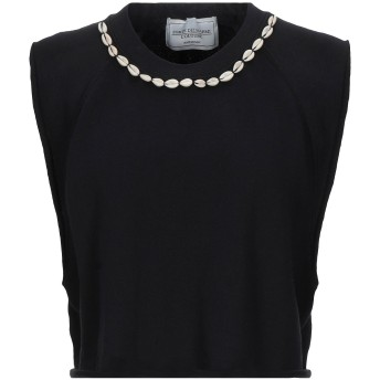 《セール開催中》FORTE DEI MARMI COUTURE レディース スウェットシャツ ブラック XS コットン 80% / ポリエステル 20%