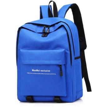 10代の女の子の女性のラップトップBagpack旅行バックパックレディース男性ブルーのバックパック女性スクールバッグ 43x29x16cm
