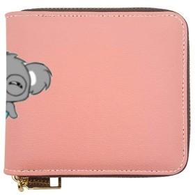 眼鏡をかけている小さなコアラ財布 ショートフォールディングウォレット
