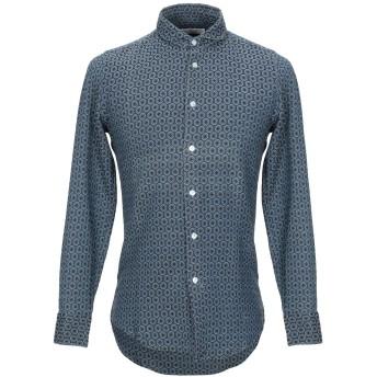 《セール開催中》MASSIMO LA PORTA メンズ シャツ ブルー 38 コットン 100%