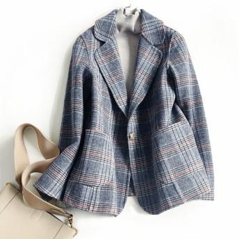 ウール100%軽やか一枚仕立てフードコート