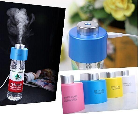 瓶蓋加濕器 家用 USB香薰空氣淨化加濕器 不挑色