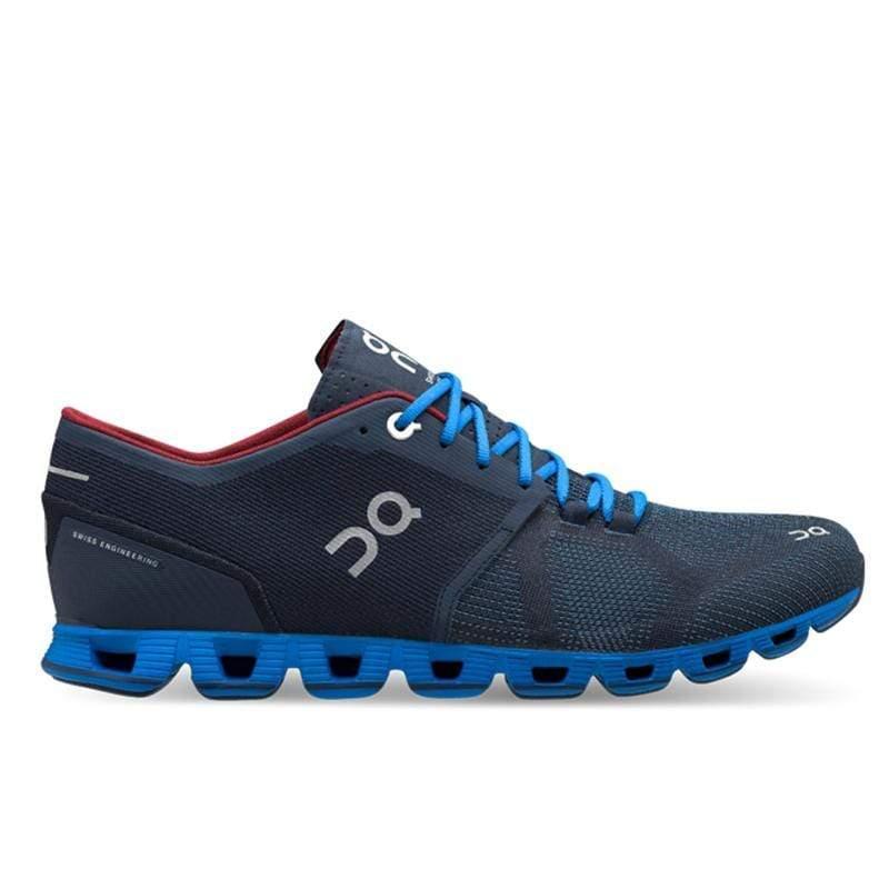 ON瑞士跑鞋輕量雲X(男) CloudX M Midnight/Cobalt 慢步藍 2099973 US12