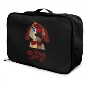 トロリーバッグ The Banana Splits 旅行用トロリーバッグ トラベルバッグ キャリーオンバッグ 折りたたみ 固定バッグ 超軽量 ダッフルバッグ 大容量 出張 かばん 収納袋