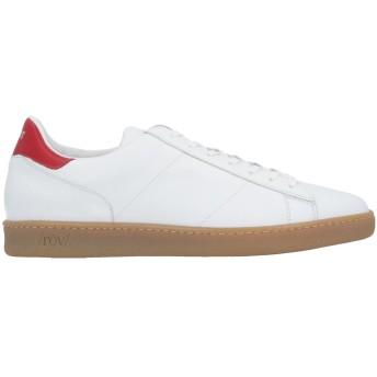 《セール開催中》ROV メンズ スニーカー&テニスシューズ(ローカット) ホワイト 40 牛革(カーフ) 100%