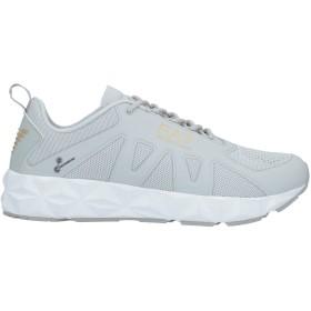 《セール開催中》EA7 メンズ スニーカー&テニスシューズ(ローカット) ライトグレー 6.5 紡績繊維