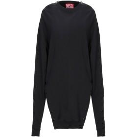 《セール開催中》DIESEL レディース スウェットシャツ ブラック XS コットン 100%