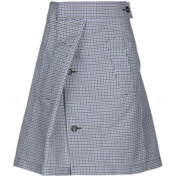 《セール開催中》PLAN C レディース ひざ丈スカート ブルー 36 コットン 50% / ナイロン 50%