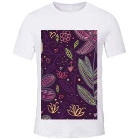 半袖 Tシャツ シャツ 丸首 デザインシャツ レディース3Lサイズ