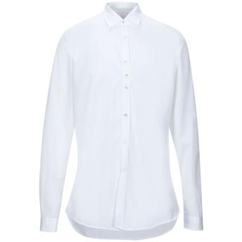 《セール開催中》COSTUMEIN メンズ シャツ ホワイト 54 コットン 100%
