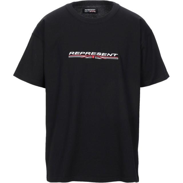 《セール開催中》REPRESENT メンズ T シャツ ブラック XL コットン 100%