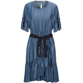 《セール開催中》LIU JO レディース ミニワンピース&ドレス ブルー 40 テンセル 100%