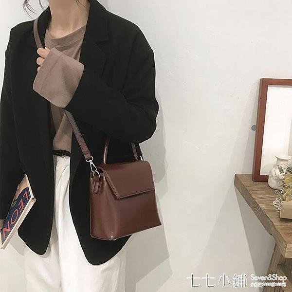 復古小包包女2019新款韓版時尚小方包高級感洋氣單肩斜挎包