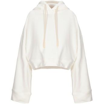 《セール開催中》KENGSTAR レディース スウェットシャツ ホワイト M コットン 100%