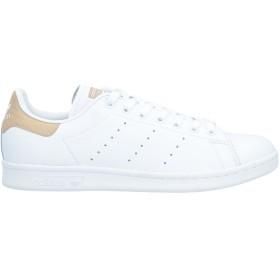 《セール開催中》ADIDAS ORIGINALS メンズ スニーカー&テニスシューズ(ローカット) ホワイト 5.5 革