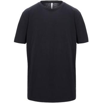 《セール開催中》BELLWOOD メンズ T シャツ ブラック 46 コットン 100%