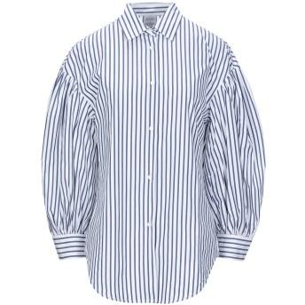 《セール開催中》SARA ROKA レディース シャツ ホワイト 42 コットン 100%
