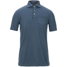 《セール開催中》CIRCOLO 1901 メンズ ポロシャツ ブルー M コットン 97% / ポリウレタン 3%