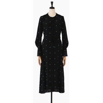 <Mame Kurogouchi /マメ クロゴウチ> ドレス BLACK【三越・伊勢丹/公式】