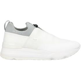 《セール開催中》RUCO LINE メンズ スニーカー&テニスシューズ(ローカット) ホワイト 41 紡績繊維