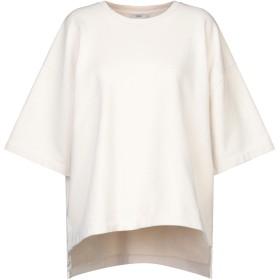 《セール開催中》CLOSED レディース スウェットシャツ アイボリー XS コットン 100%