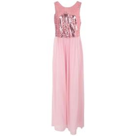 《セール開催中》LANACAPRINA レディース ロングワンピース&ドレス ピンク 44 ポリエステル 100% / レーヨン