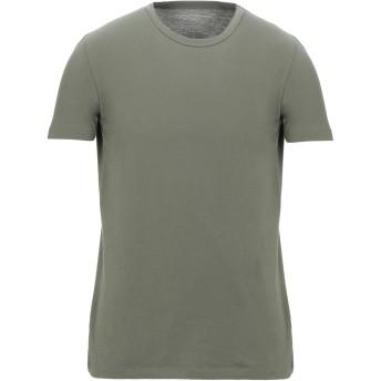 《セール開催中》MAJESTIC FILATURES メンズ T シャツ ミリタリーグリーン M コットン 100%