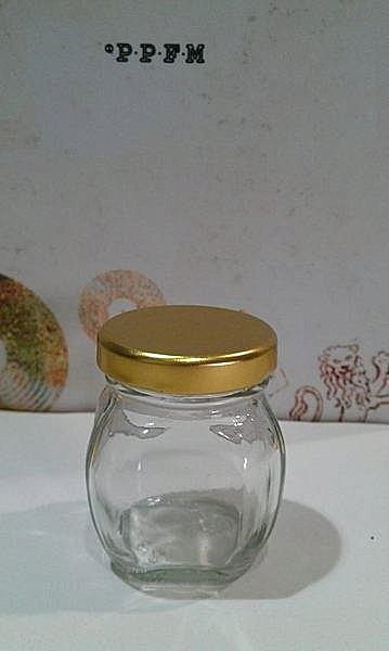 60cc 小香瓜玻璃罐 果醬瓶【T004】醬菜瓶 辣椒瓶 XO醬瓶 玻璃瓶 蜂蜜瓶 干貝醬瓶