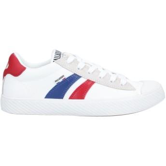 《セール開催中》PALLADIUM レディース スニーカー&テニスシューズ(ローカット) ホワイト 3.5 紡績繊維 / 革
