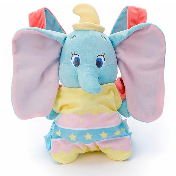 特價 T-ARTS Disney 小媽媽背帶絨毛 小飛象_TA21775