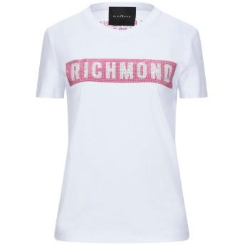 《セール開催中》JOHN RICHMOND レディース T シャツ ホワイト XXS コットン 100%
