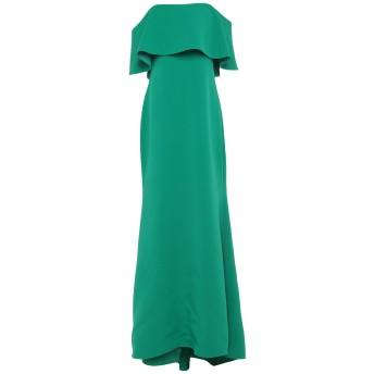 《セール開催中》BADGLEY MISCHKA レディース ロングワンピース&ドレス グリーン 10 ポリエステル 95% / ポリウレタン 5%