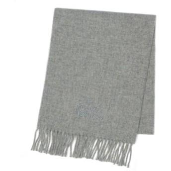 ヴィヴィアン ウエストウッド vivienne westwood マフラー s15 scarf 30×170 l.gray l.gy