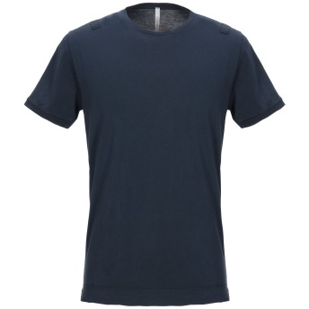 《セール開催中》BELLWOOD メンズ T シャツ ダークブルー 46 コットン 100%