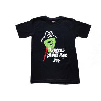 クイーンズ・オブ・ザ・ストーン・エイジ QUEEN OF STONE AGE バンドTシャツ 025 (Mサイズ)