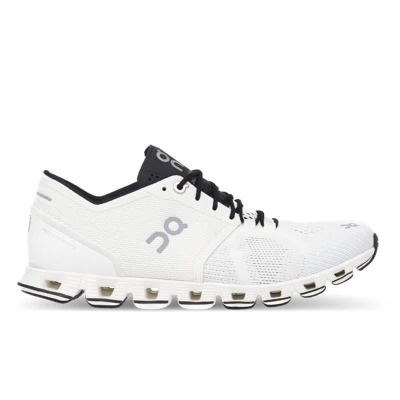 ON瑞士跑鞋輕量雲X(男) CloudX M White/Black 個性白 200006 US10