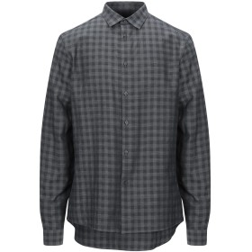 《セール開催中》CALVIN KLEIN メンズ シャツ 鉛色 L コットン 100%