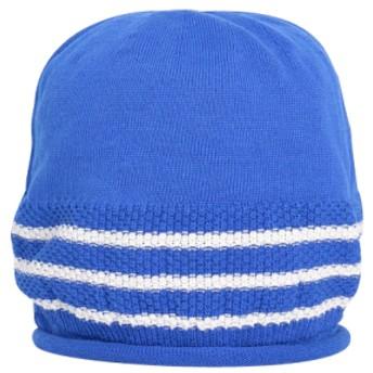 Fcuble ラインワッチ「ブルー×オフホワイト」 ブルー×オフホワイト フリーサイズ(約55.5〜57.5cm)