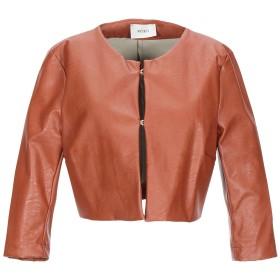 《セール開催中》VICOLO レディース テーラードジャケット ブラウン one size ポリウレタン 55% / レーヨン 45%