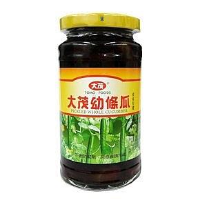 大茂 幼條瓜 玻璃瓶 375g【康鄰超市】