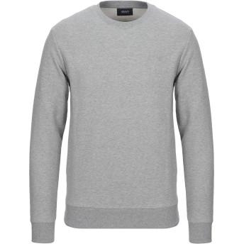 《セール開催中》ARMANI JEANS メンズ スウェットシャツ グレー S コットン 100% / ポリウレタン