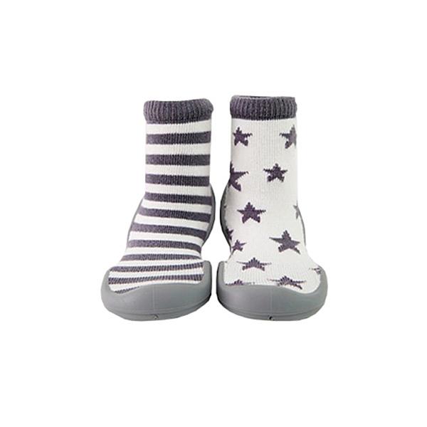 GGOMOOSIN 星星條紋學步鞋/襪鞋
