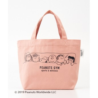 PEANUTSgoods(snoopy) 舟形トートバッグ ピンク F