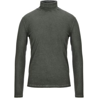 《セール開催中》MAJESTIC FILATURES メンズ T シャツ ダークグリーン M コットン 85% / カシミヤ 15%