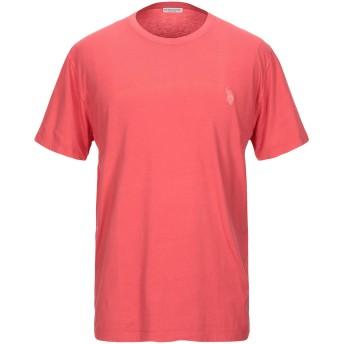 《セール開催中》U.S.POLO ASSN. メンズ T シャツ コーラル S コットン 100%
