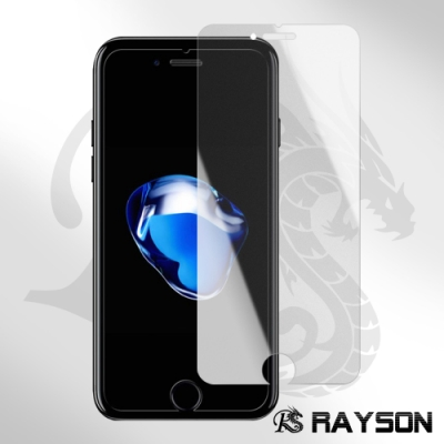 iPhone 7/8 霧面 透明 非滿版 半屏 手機 9H保護貼