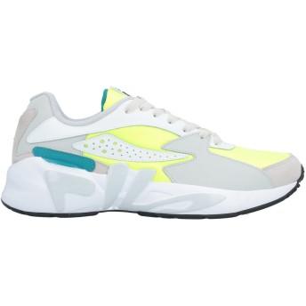 《セール開催中》FILA メンズ スニーカー&テニスシューズ(ローカット) ライトグレー 42 革 / 紡績繊維