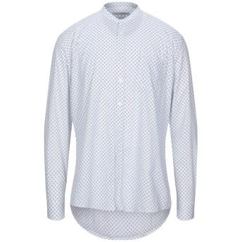 《セール開催中》DANIELE ALESSANDRINI メンズ シャツ ホワイト 38 コットン 97% / ポリウレタン 3%